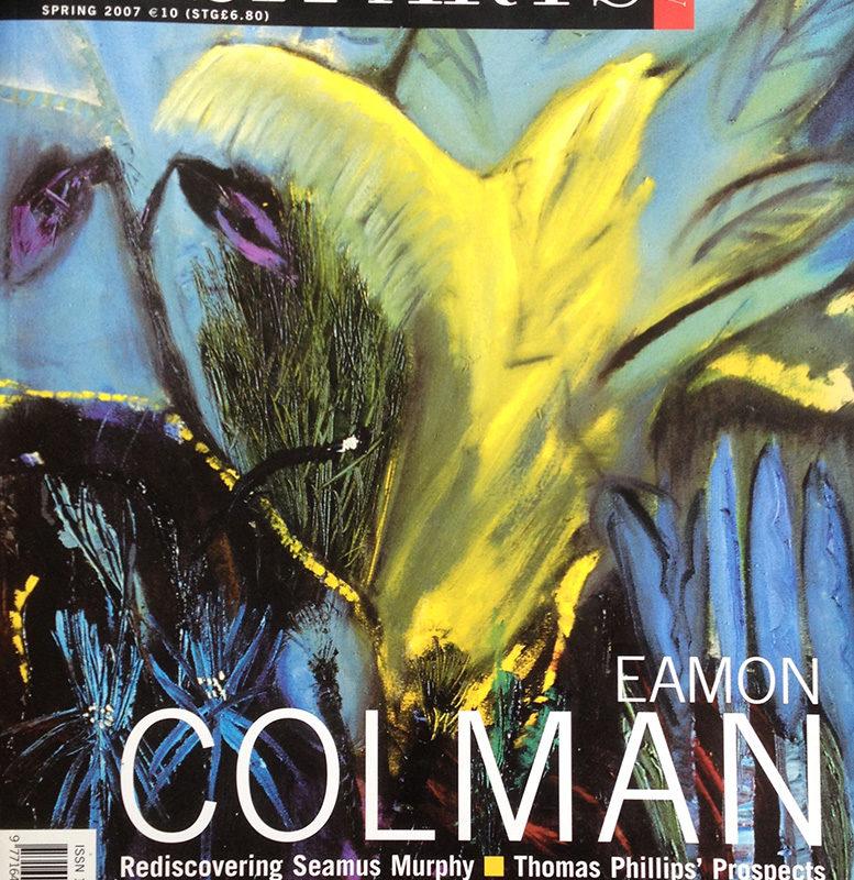 Irish Art Review Spring 2007 cover
